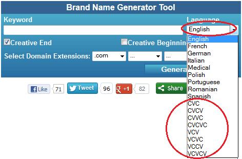 domain name generator shopify